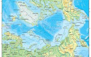 Информация о том, сколько океанов на Земле