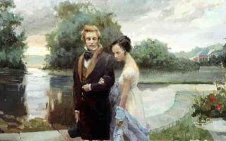Какое содержание Евгения Онегина Пушкина?