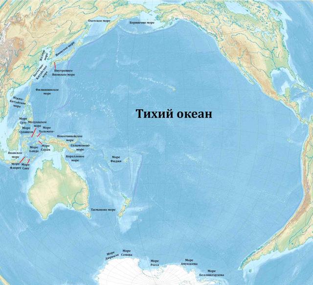 Сколько океанов на планете земля - 5 или 4, их названия